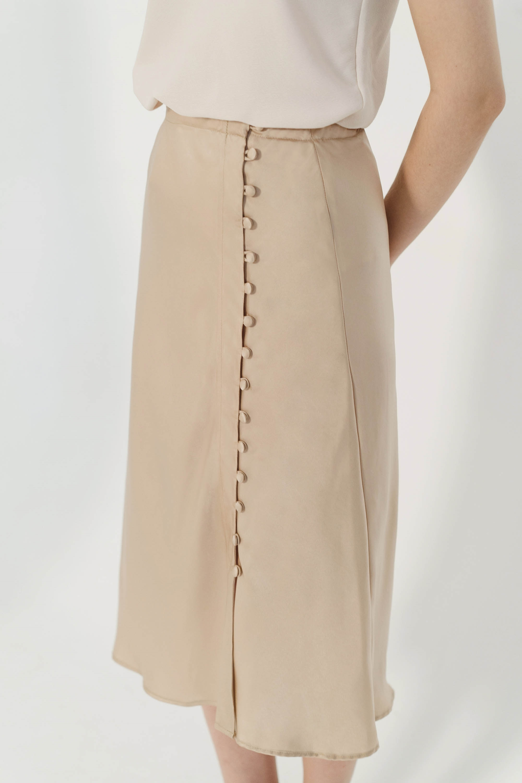Picture of Gemma Buttoned Skirt