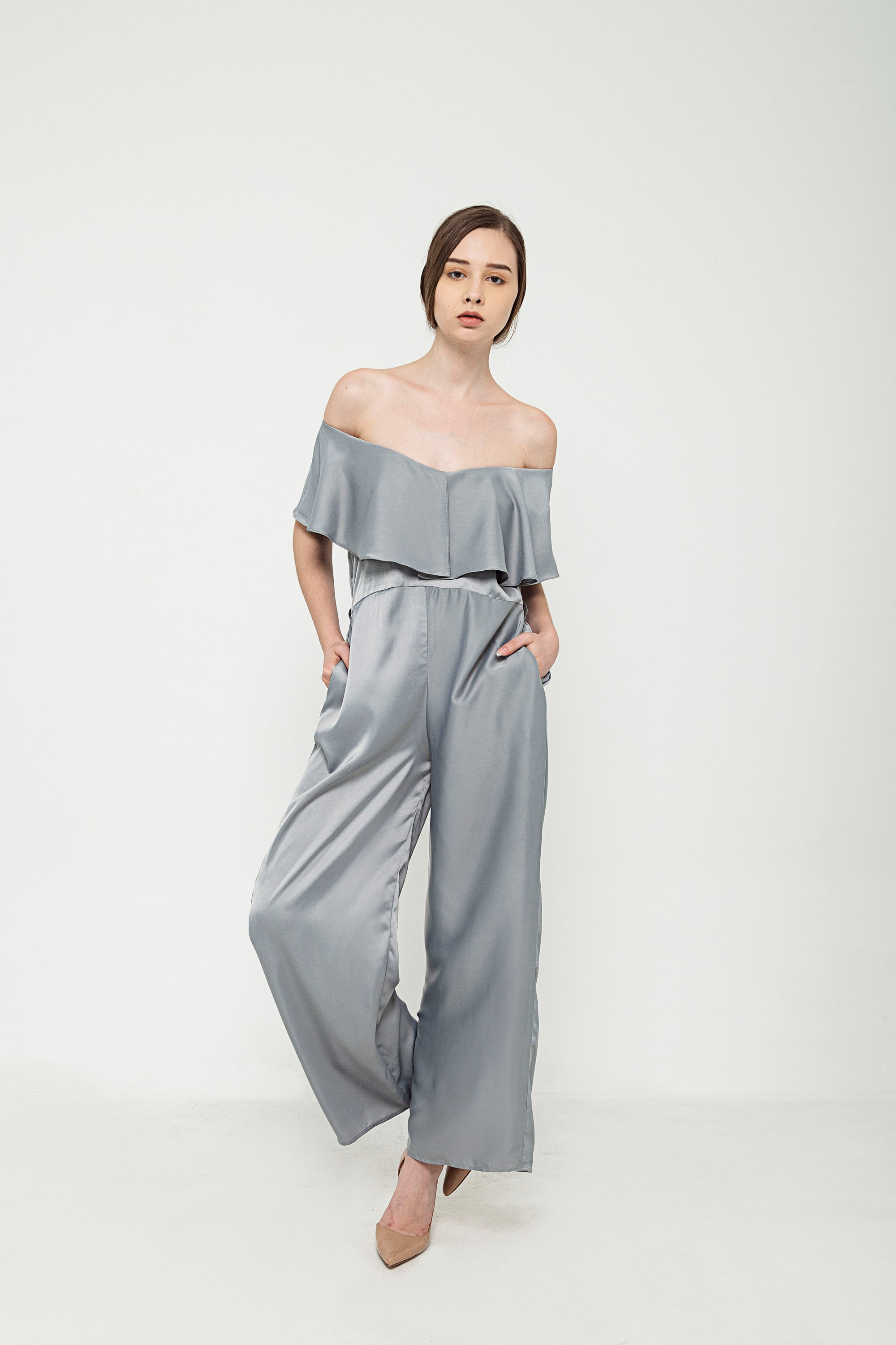 Picture of Olive Jumpsuit in Sea