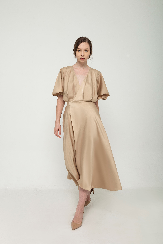 Picture of Jeje Dress in Caramel