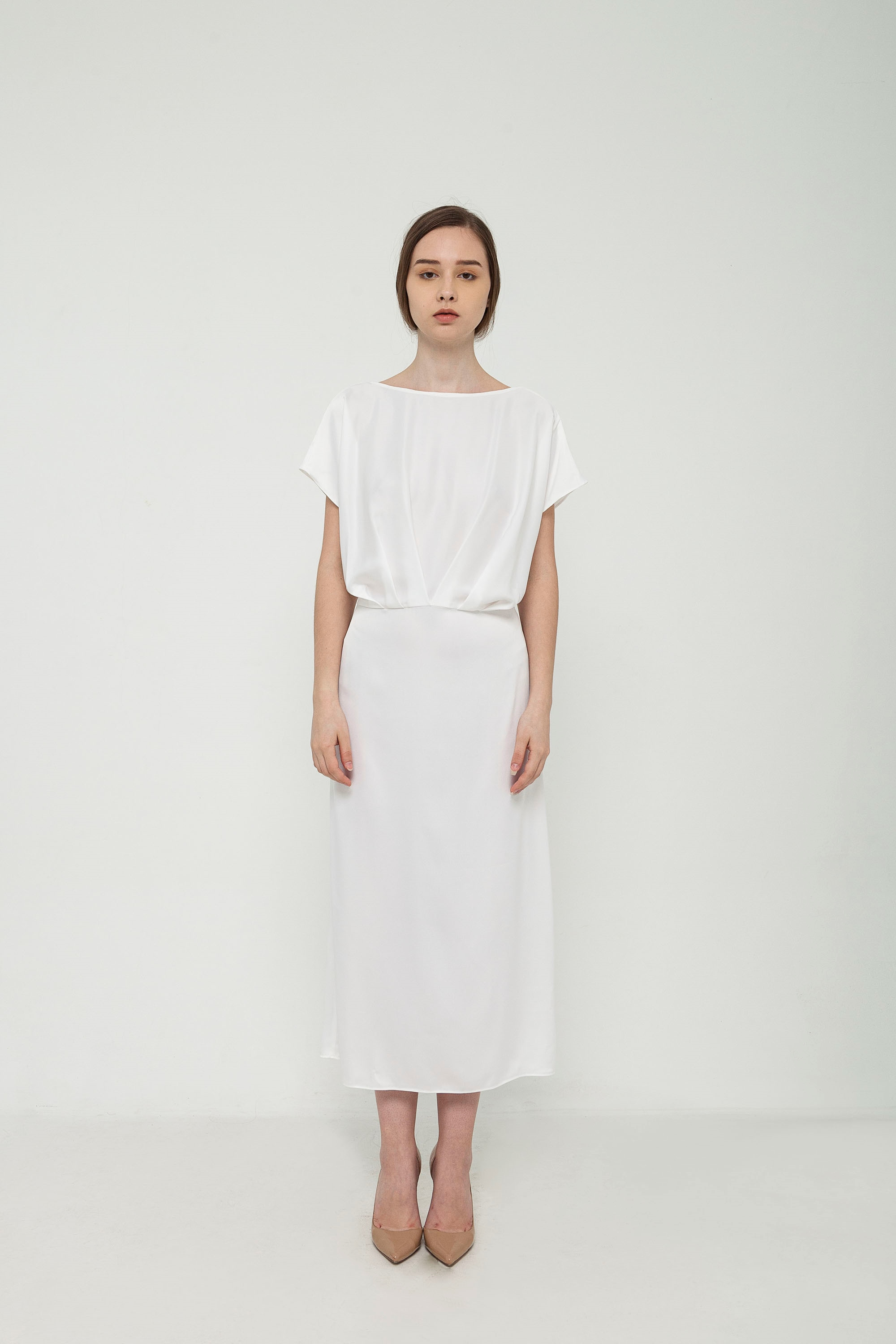 Picture of Ellen Dress in Pearl