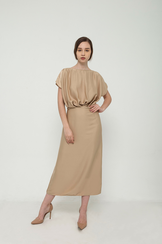 Picture of Ellen Dress in Caramel