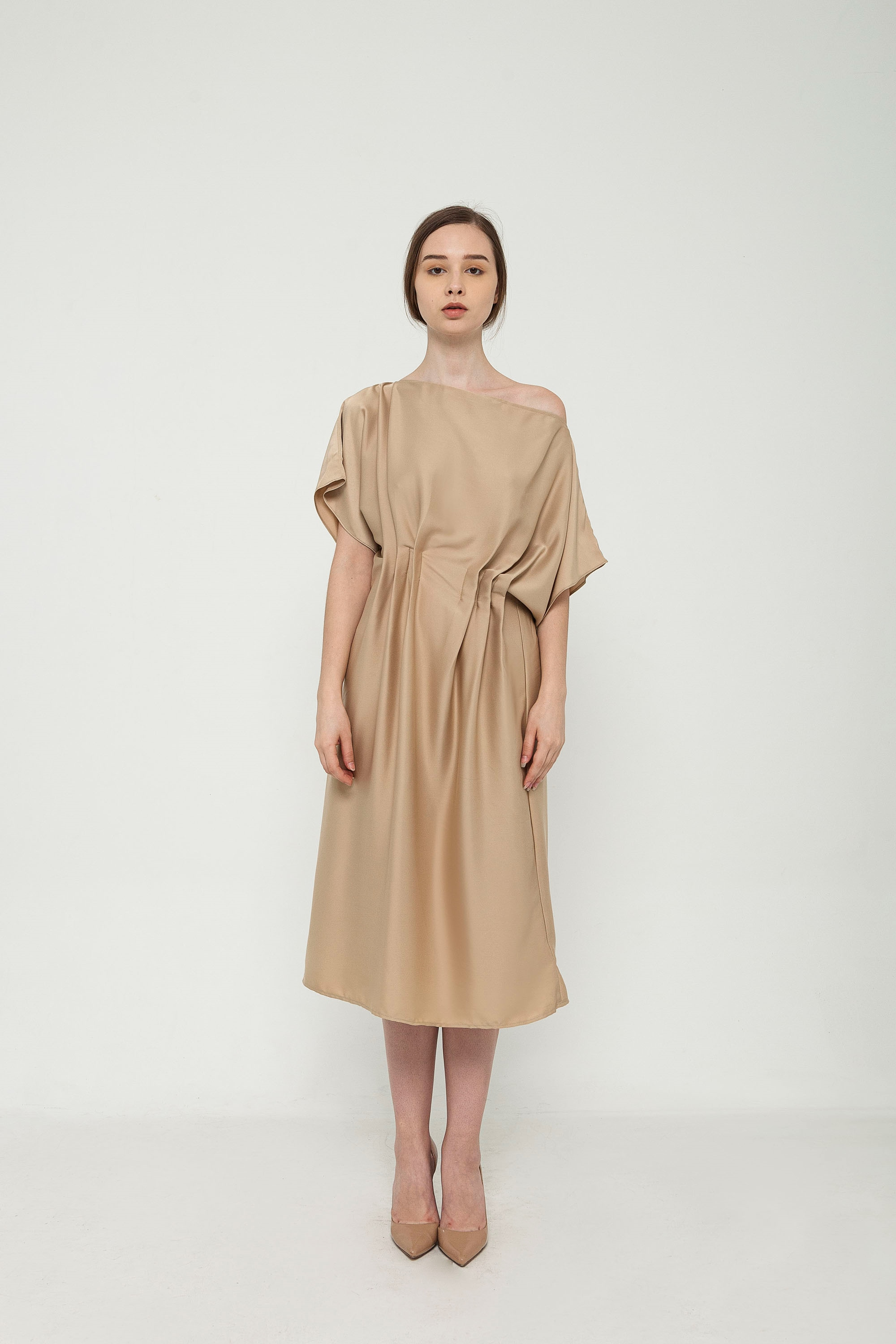 Picture of Ivana Dress in Caramel