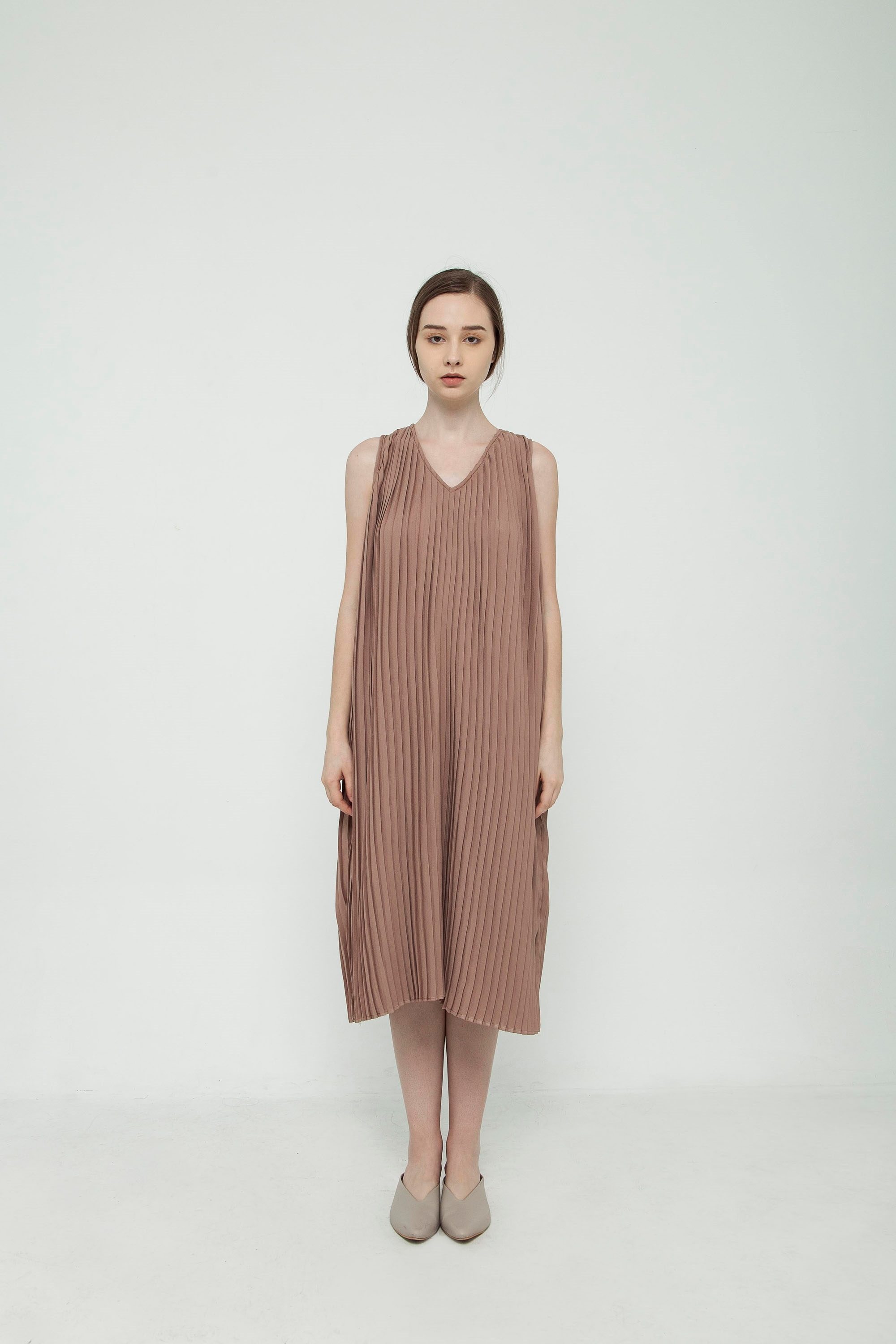 Picture of Thalia Dress in Sand